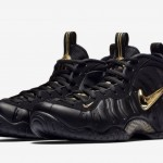 "【11月17日直リンク】Nike Air Foamposite Pro ""Black/Metallic Gold""【624041-009】"