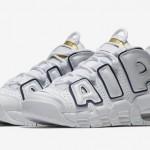 """【近日発売】Nike Air More Uptempo """"Navy/Gold""""【ナイキ モアアップテンポ】"""