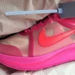 """【10月13日発売】Off-White x Nike Zoom Fly """"Tulip Pink""""【オフホワイト x ナイキ】"""