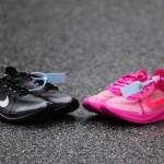 """【2018年発売】Off-White x Nike Zoom Fly SP """"Black"""" """"Pink""""【オフホワイト x ナイキ】"""