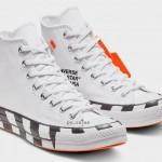 """【10月8日発売】Off-White x Converse Chuck 70 """"White/Stripe"""" 2018【オフホワイト x コンバース】"""