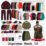 【10月27日発売】2018FW Supreme Week10 発売アイテム一覧がこ・ち・ら