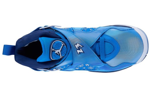 best service 1df3a 2df16 Air Jordan 8 GS Color  Cobalt Blaze Blue Void-White Style Code  305368-400.  Release Date  December 1, 2018. Price   140
