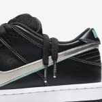 "【11月10日発売】Diamond Supply Co. x Nike SB Dunk Low ""Black Diamond""【BV1310-001】"