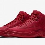 """【11月23日発売】Air Jordan 12 """"Gym Red""""【エアジョーダン12 公式画像】"""