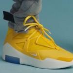 """【リーク】Nike Air Fear of God 1 """"Yellow""""【エア フィア オブ ゴッド1】"""