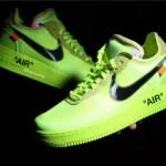"""【着用画像】Off-White x Nike Air Force 1 Low """"Volt""""【オフホワイト x ナイキ】"""