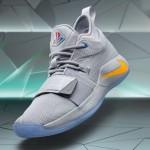 """【12月1日発売】PlayStation x Nike PG 2.5 """"Wolf Grey""""【BQ8388-001】"""