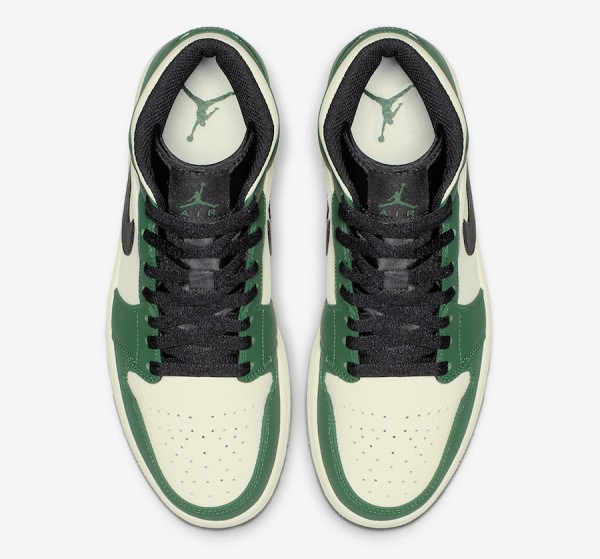 aj1 pine green mid