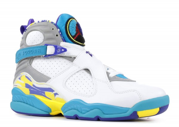 "2019年夏】Air Jordan 8 ""White Aqua"