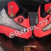 """【2019年発売】Clot x Air Jordan 13 Low """"Black Infrared""""【クロット x エアジョーダン13】"""