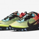 "【2019年発売】Nike React Element 87 ""Volt/Racer Pink-Black-Aurora""【リアクト・エレメント87】"