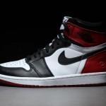 """【サンプル流出】fragment design x Air Jordan 1 """"Black Toe"""" Sample【フラグメント x エアジョーダン1】"""