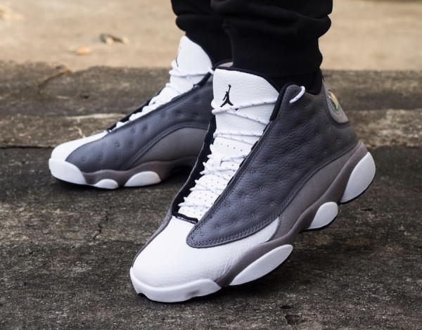 innovative design 4f71b 196d9 Air Jordan 13. Color  Atmosphere Grey White-University Red-Black Style Code   414571-016. Release Date  March 30, 2019. Price   190