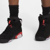 """【2月16日発売】Air Jordan 6 """"Black Infrared""""【エアジョーダン6】"""
