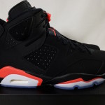 """【新リーク画像】Air Jordan 6 """"Black Infrared""""【エアジョーダン6 ブラック インフラレッド】"""