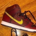"""【1月21日発売】NBA x Nike SB Dunk High """"Cleveland Cavaliers""""【SB ダンク ハイ】"""