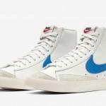 "【1月19日発売】Nike Blazer Mid 77 Vintage ""Pacific Blue"""