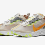 "【1月17日】Nike React Element 87 ""Light Orewood Brown"" AQ1090-101"