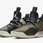 "【2月15日】Travis Scott x Air Jordan 33 NRG ""Army Olive"" CD5965-300"