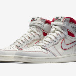 "【3月16日】Air Jordan 1 ""Sail/University Red"" 555088-160【エアジョーダン1】"