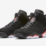 """【本日ゲリラ発売】Air Jordan 6 """"Black Infrared""""【エアジョーダン6】"""