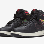 "Nike Air Force 1 High ""Black Floral"" CI2304-001"