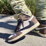 "【4/26発売】Travis Scott x Air Jordan Retro 1 High OG TS SP ""Cactus Jack""【トラヴィス x エアジョーダン1】"