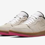 """【2019年夏発売】Air Jordan 1 Low """"Pink Bottoms""""【エアジョーダン1 ロー】"""
