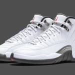 """【12月21日発売】Air Jordan 12 """"White/Grey""""【エアジョーダン12】"""