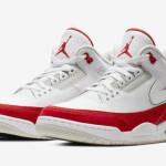 """【3月30日】取り外し可能なスウッシュ! Air Jordan 3 Tinker """"University Red"""" CJ0939-100【エアジョーダン3 ティンカー】"""