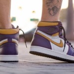 "【4月発売】Nike SB x Air Jordan 1 Retro High OG ""Lakers""【ナイキ SB x エアジョーダン1】"