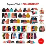 【3月16日発売】Supreme Week3 リリースアイテムがこちら