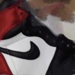 """【8月発売】Air Jordan 1 Satin """"Black Toe""""【エアジョーダン1 サテン ブラック トゥ】"""