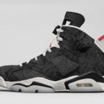 """【12月28日発売】Air Jordan 6 """"Black Washed Denim""""【エアジョーダン6】"""