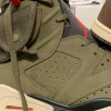 """【リーク】Travis Scott x Air Jordan 6 """"Medium Olive""""【トラヴィス スコット x エアジョーダン6】"""