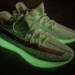 "【2019春】adidas Yeezy Boost 350 V2 ""Glow in the Dark"""