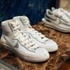 """【リーク】sacai x Nike Blazer & Waffle Daybreak """"White/Grey""""【サカイ x ナイキ】"""
