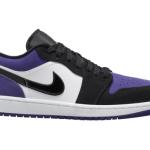 """【夏発売】Air Jordan 1 Low """"Court Purple""""【エアジョーダン1 ロー】"""