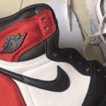 """【2019年8月発売】Air Jordan 1 Satin """"Black Toe""""【エア ジョーダン 1 サテン】"""