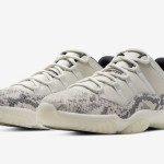 "【5月18日】Air Jordan 11 Low ""Snakeskin"" CD6846-002"