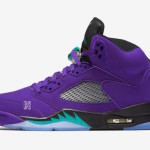 "【2020】Air Jordan 5 ""Alternate Grape""の新たな画像が公開【136027-500】"