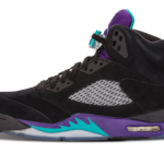 "【復刻!?】Air Jordan 5"" Black Grape Ice""136027-500"