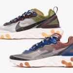 【5月2日】Nike React Element 87 2カラーリリース【AQ1090-200, AQ1090-300】