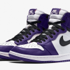 "【2020年4月】Air Jordan 1 High OG ""Court Purple"" 555088-500"
