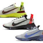 【6月6日】Nike React ISPA CT2692-001, CT2692-400, CT2692-002