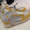 【リーク】Off-White x Air Jordan 1 Sample in Yellow【オフホワイト x エア ジョーダン 1】