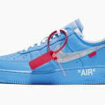 "【6月発売】Off-White x Nike Air Force 1 Low ""University Blue""【オフホワイト x ナイキ】"