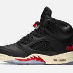 """【2020年発売】Air Jordan 5 SP """"Black Muslin""""【エア ジョーダン 5】"""