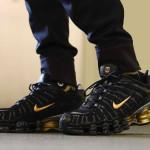 """【7月13日発売】Neymar x Nike Shox TL """"Black/Gold""""【ネイマール x ナイキ ショックス】"""